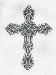 Cross Tatoo - best 25 cross designs ideas on cross drawing
