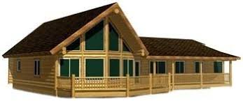 ranch style log home floor plans log cabin house design plans packages kits