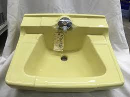 vintage yellow bathroom sink brightpulse us