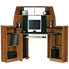 Black Corner Computer Desk With Hutch Computer Desks With Hutch From Computerdeskcom Oak Desk With Hutch
