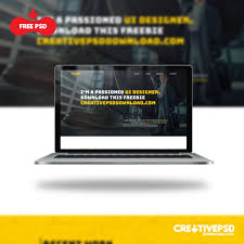 website templates free download psd portfolio website template ui free psd creativepsddownload