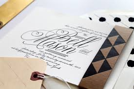 bell mason u0027s black and white wedding invitations