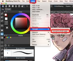 how to convert layers to halftone in medibang paint pro medibang