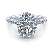 halo engagement ring settings oval halo engagement ring setting gtj3720 oval w gerry
