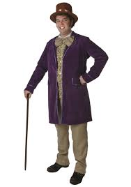 party city couples halloween costumes deluxe willy wonka costume