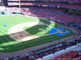 Kauffman Stadium Map St Louis Cardinals Seating Best Seats At Busch Stadium 2016