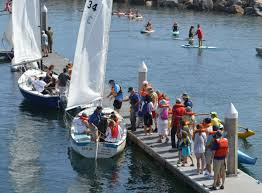 redondo beach king harbor sea fair offers a day u0027s worth of sea