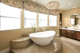vibrant transitional master bathroom before and after san diego