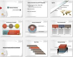 powerpoint business presentation template company presentation