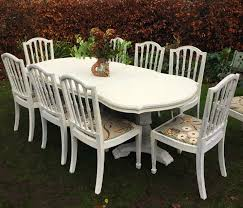 Large Extending Dining Table Stunning Large Extending Dining Table With 8 Chairs And One