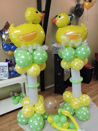 rubber duck baby shower ideas baby shower balloon decor nwiballoons