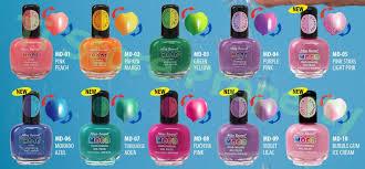 mia secret mood color changing nail polish 10 colors choose