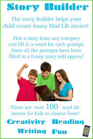 mad libs for kids at squigly u0027s playhouse