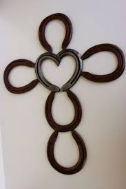 24 best crafts images on pinterest heart horseshoe cross