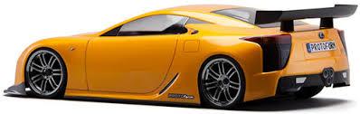 orange lexus lfa for 1 10 touring fit 190mm drifting 1531 30 lexus lfa sedan