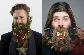 funny christmas beard decoration u0026 men u0027s hairstyles hairstyles