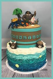 maui from moana cake cake ideas pinterest cake birthdays