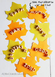 thankful leaves thanksgiving wall hanging crafts a