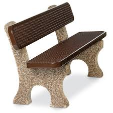structure collection stone benches playground equipment for
