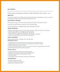 cv template qub entry level phlebotomy resume