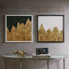 INK IVY Richter Gold Wall Decor Set 2 Free Shipping Today