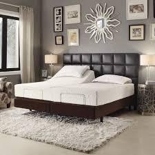 soft bed frame brown leather bedroom furniture centerfieldbar com