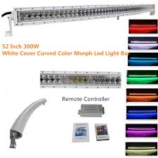 4x4 Led Light Bars by Straight 20 22 Inch 120w Color Changing Led Light Bar With Remote