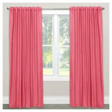 coral blackout curtains target