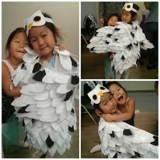 diy snowy owl costume success jeneral musings