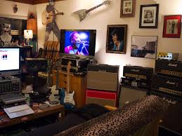 Bedroom Music Studio Design Amp And Guitar Room Not The Design But Could Definitely Have A