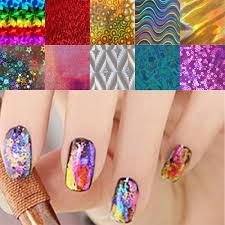 metallic nail foil wraps aliexpress buy 10pcs lot nail transfer foils stickers