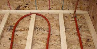 the above floor suspended slab installation diy radiant floor