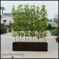 outdoor artificial bamboo in modern planters planters unlimited
