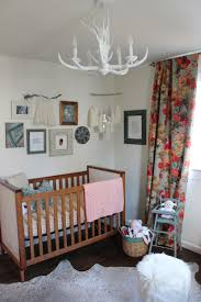 White Rug Nursery Softening Feminine Touches With Rustic Thewhitebuffalostylingco Com