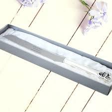wedding cake knife debenhams engraved silver plated wedding cake knife personalized wedding