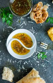 restaurant style olive oil and herb bread dip