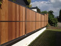 Modern Fence by Contemporary Fence And Gates Contemporary Fence Designs