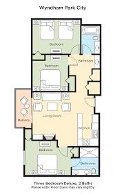 club wyndham wyndham park city 3 bedroom deluxe