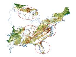 United States Climate Regions Map by Nasa Nasa Eyes Declining Vegetation In The Eastern United States