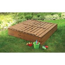 Sandboxes With Canopy And Cover by Badger Basket Covered Convertible Cedar Sandbox With 2 Bench Seats