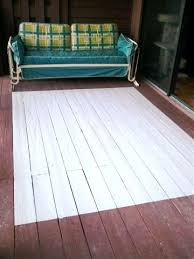 anatomy of a painted deck