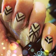 glitternailartist lines on lines nails nail art ideas