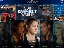 download the divergent ipad app features exclusive bonus material