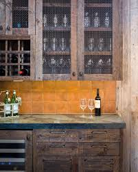 rustic glass kitchen cabinets 10 types of rustic kitchen cabinets to pine for
