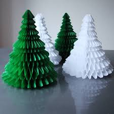 paper tree ornaments lights decoration