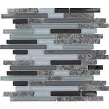 Brown Gray Metal Slate Backsplash by Backsplash Tiles Kitchen Backsplash Glass Tile Oasis