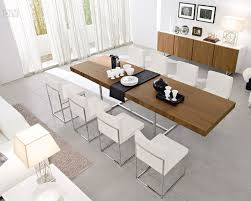 white dining room table extendable interior mesmerizing modern expandable dining table 25 winning
