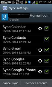 android remove account how to delete and stop syncing all plus contact on your android