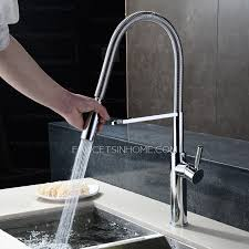 one kitchen faucets rotatable one handle chrome high end kitchen faucets