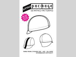 diy kit sewing pattern three panel cycling cap u2013 little package